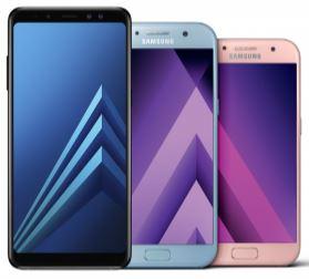 Les différentes gammes de Samsung